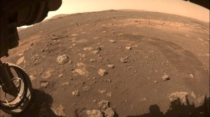 Perseverance makes its first drive on Mars