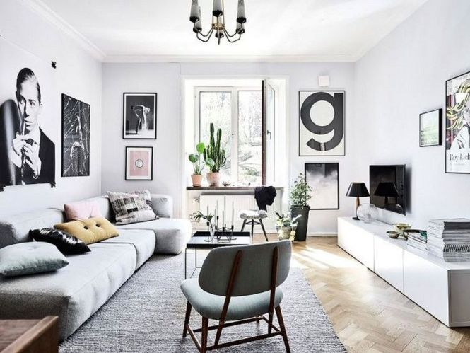 Minimalist Living Room Small Apartment