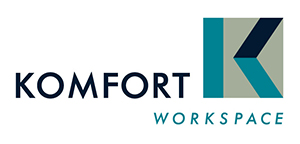 Komfort office glazing logo