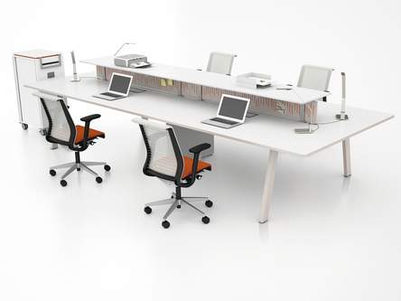 Picture of Steelcase Fusion Office Bench Desks