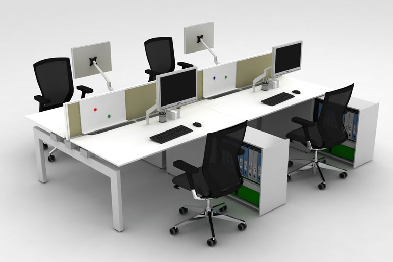 Picture of Techo Platform Office Bench Deskss