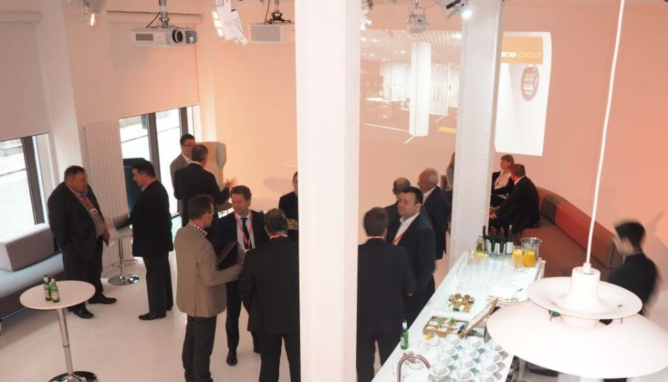 Picture from Talking Creative Workspaces event at the Ice Tank London
