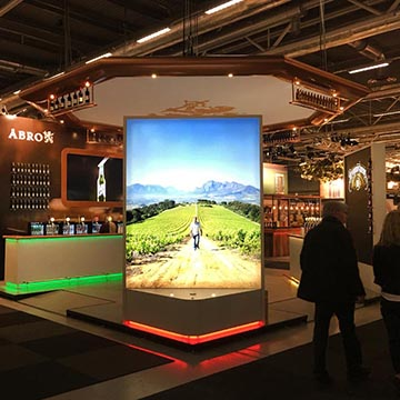 Abro exhibition stand at Beer and Whisky