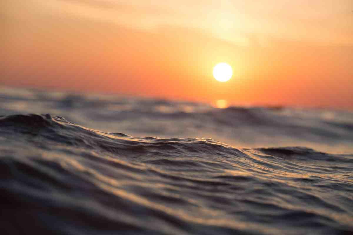sunshine and waves
