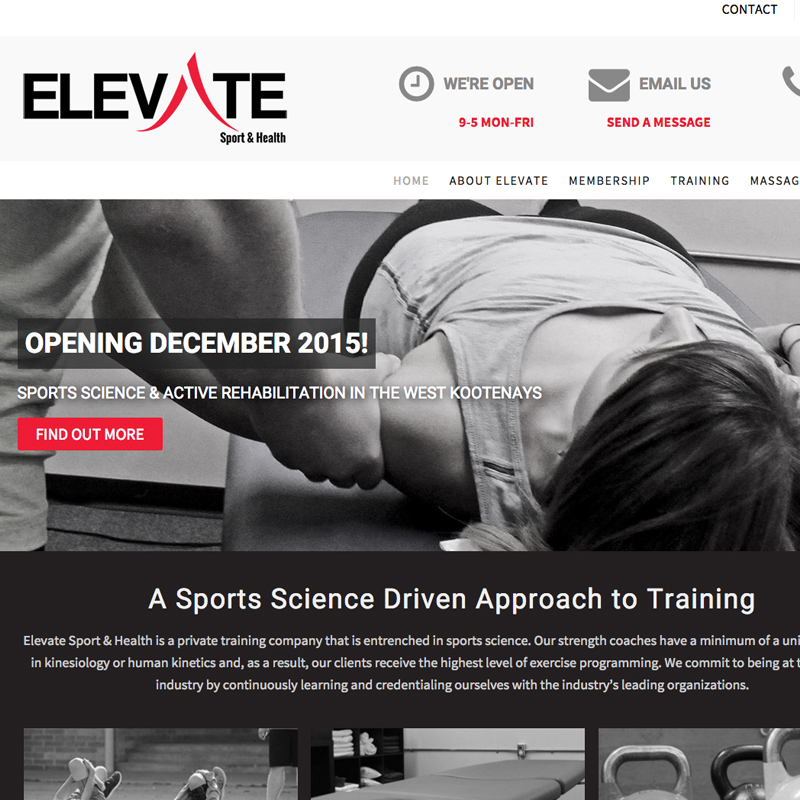 elevate sport and health