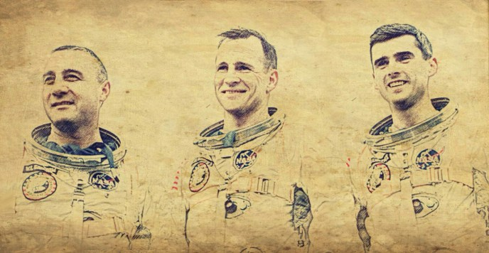 Apollo 1 Crew Sketch By Joe G.