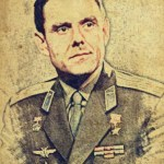 Sketch of Vladimir Komarov by Joe G.