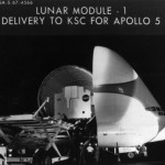 Lunar Module 1 delivered to the Cape