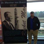 Dr. Wernher von Braun. The Rocket Man.