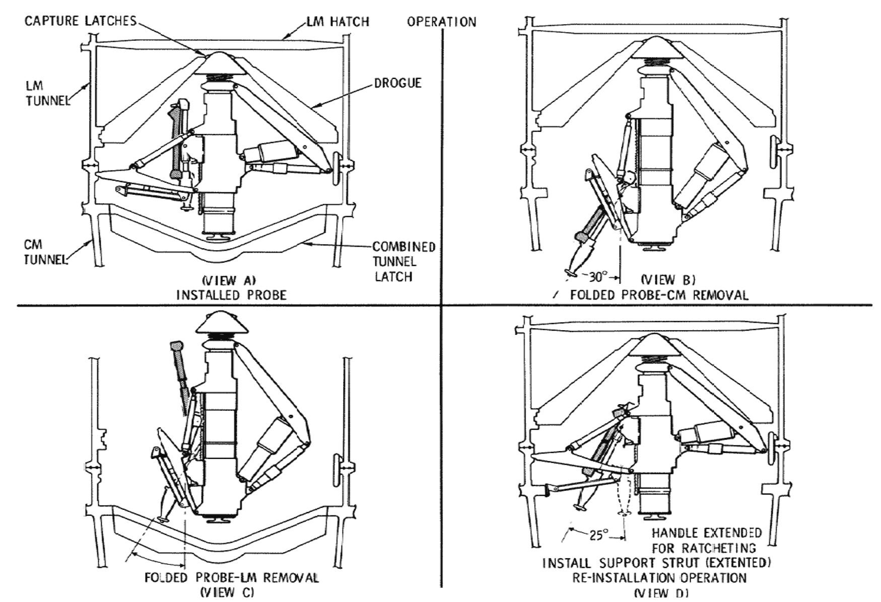 Space Rocket History 181 Apollo 9 Lunar Module