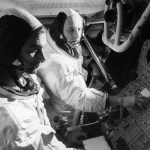 Stafford & Cernan training in the LM