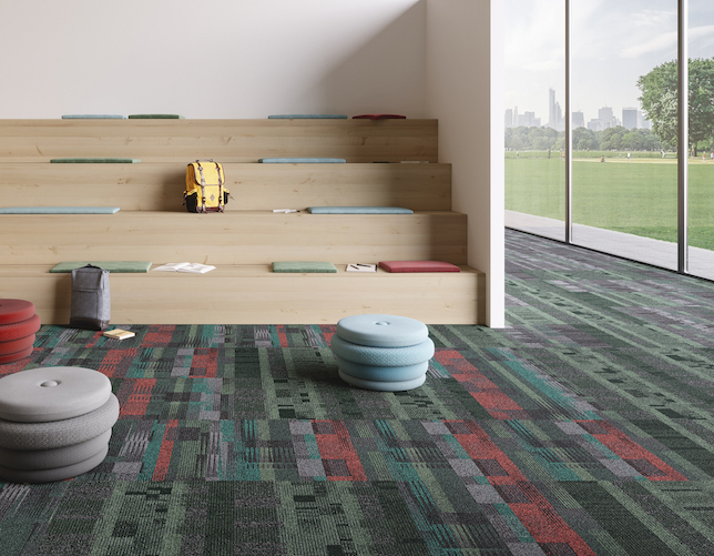 shaw contract adds new carpet tiles lvt to flooring lineup spaces4learning