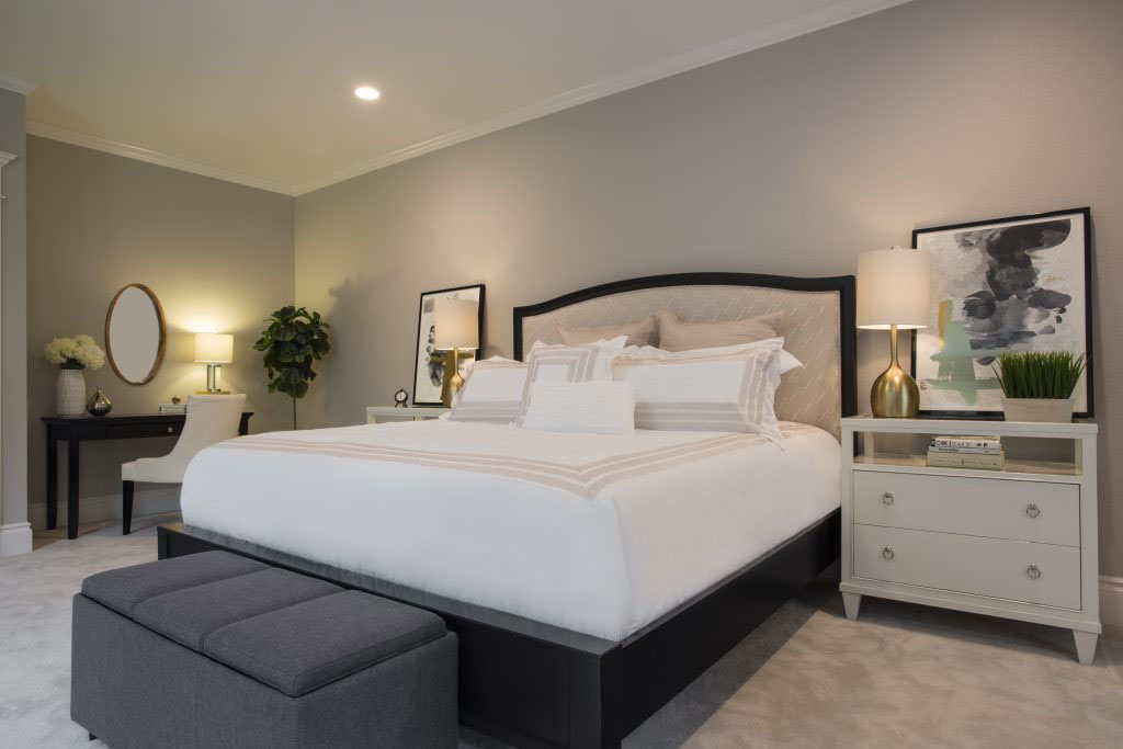 Full Master Bedroom With Bathroom And Walk In Closet