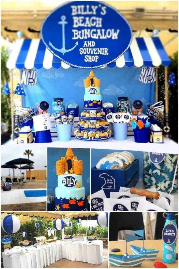 Boys Beach Bash Birthday Party