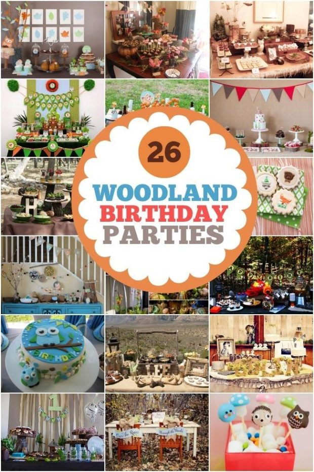 woodland birthday party ideas