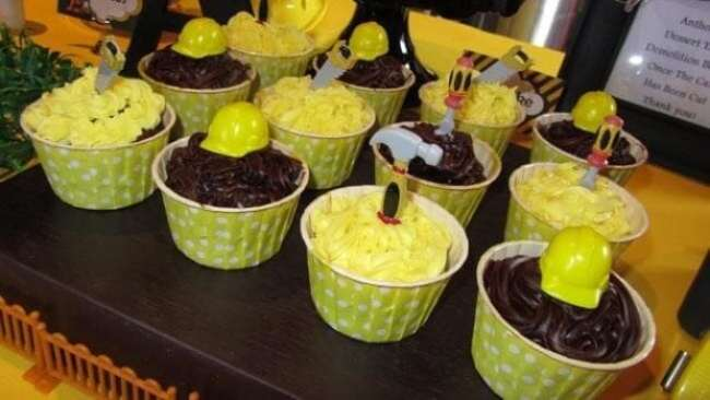Construction Truck Birthday Party Birthday Cupcakes