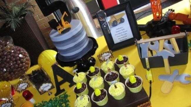 Construction Truck Birthday Party Birthday Cake