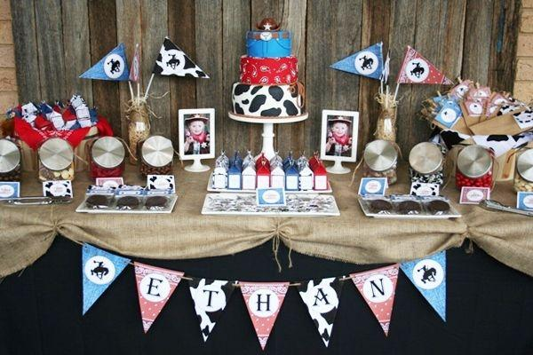 52 Cowboy Themed Boy Birthday Party Ideas Spaceships And Laser Beams