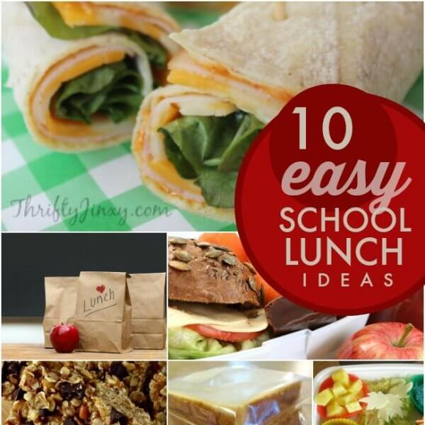 10 Hot Lunch Ideas You Can Pack For School Spaceships