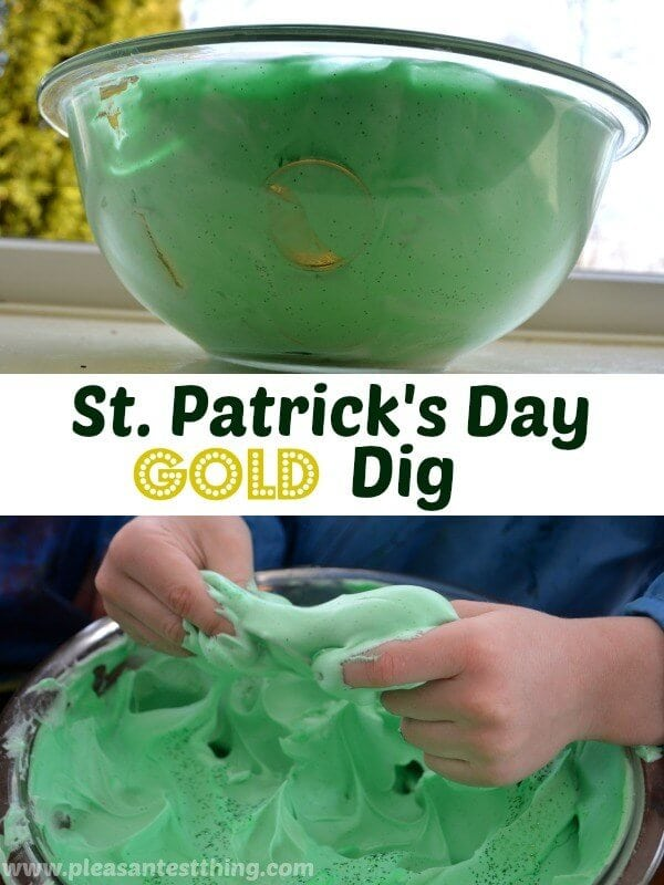 St. Patrick's Day Gold Dig Activity