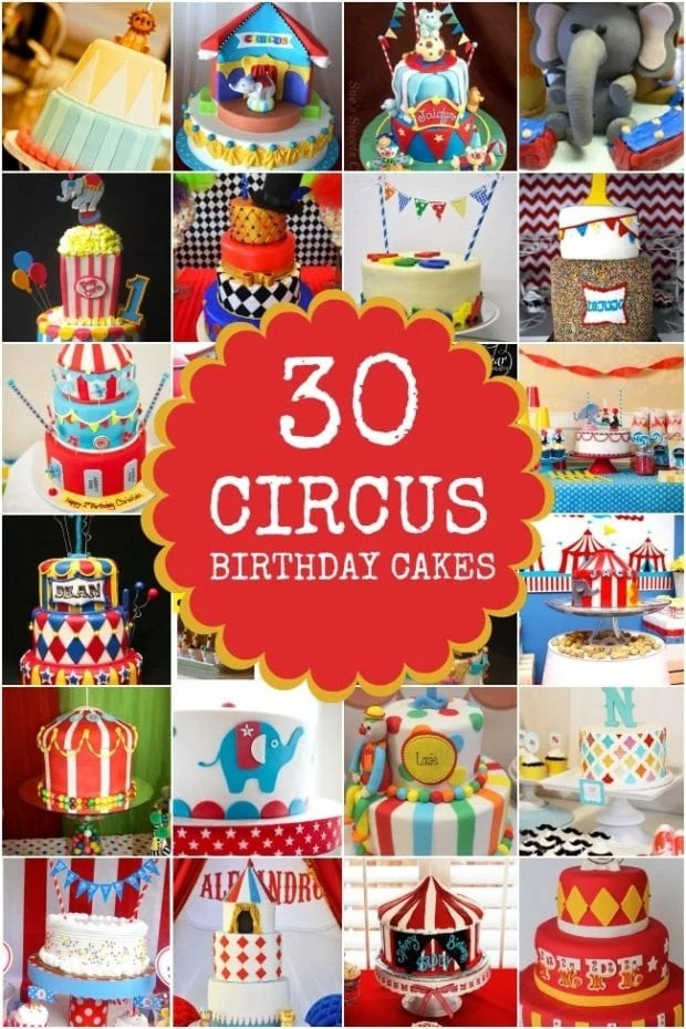 30 Circus Birthday Party Cake Ideas Spaceships And Laser