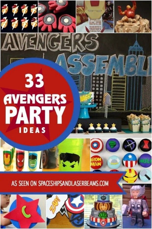 Avenger Birthday Party Ideas