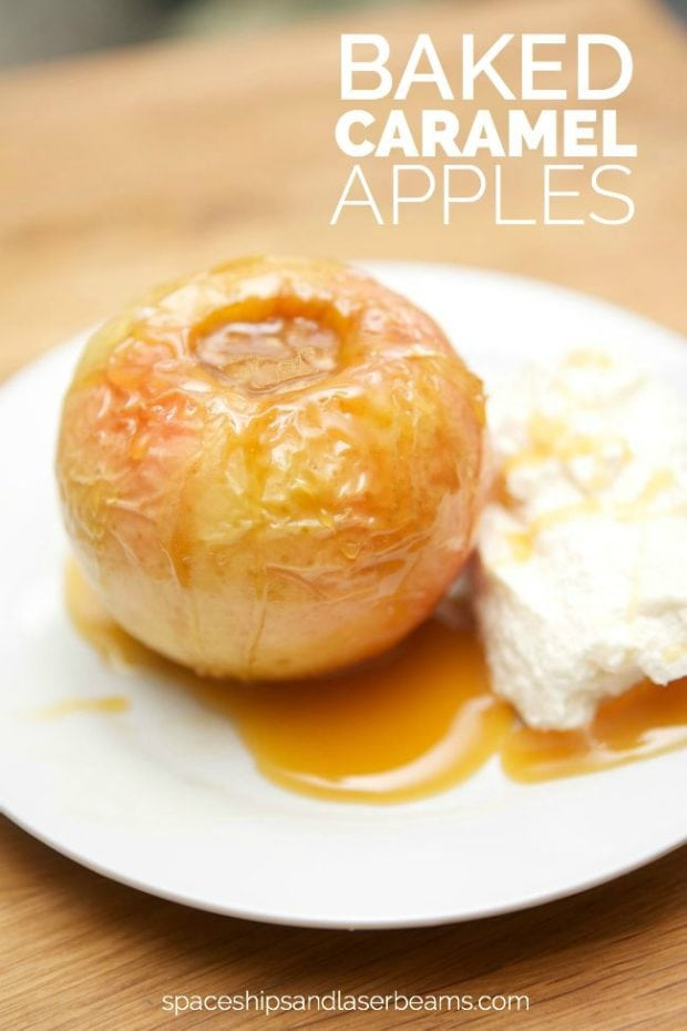 Baked Caramel Apple Recipe