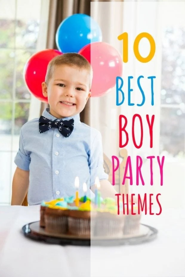 10 Best Themes For Boys Parties This Week Spaceships And