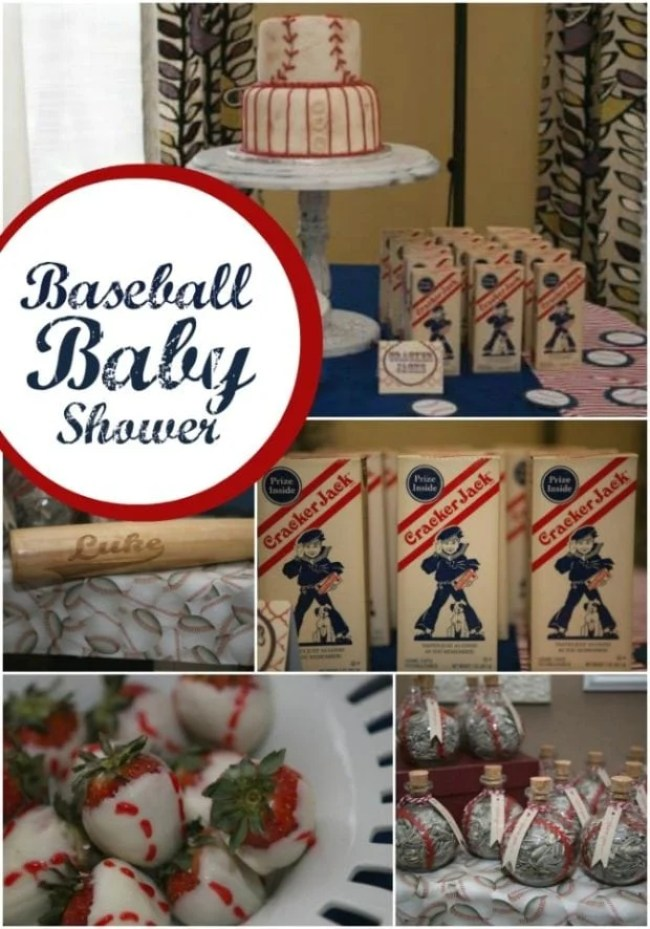 Baby Shower Baseball Party Favors