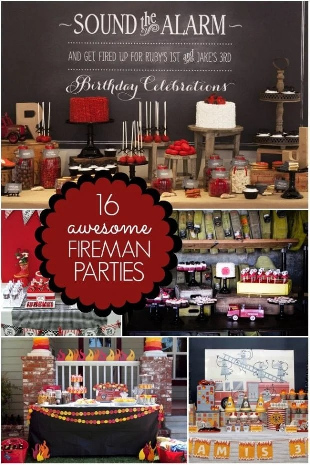 16 Fireman Birthday Party Ideas Spaceships And Laser Beams
