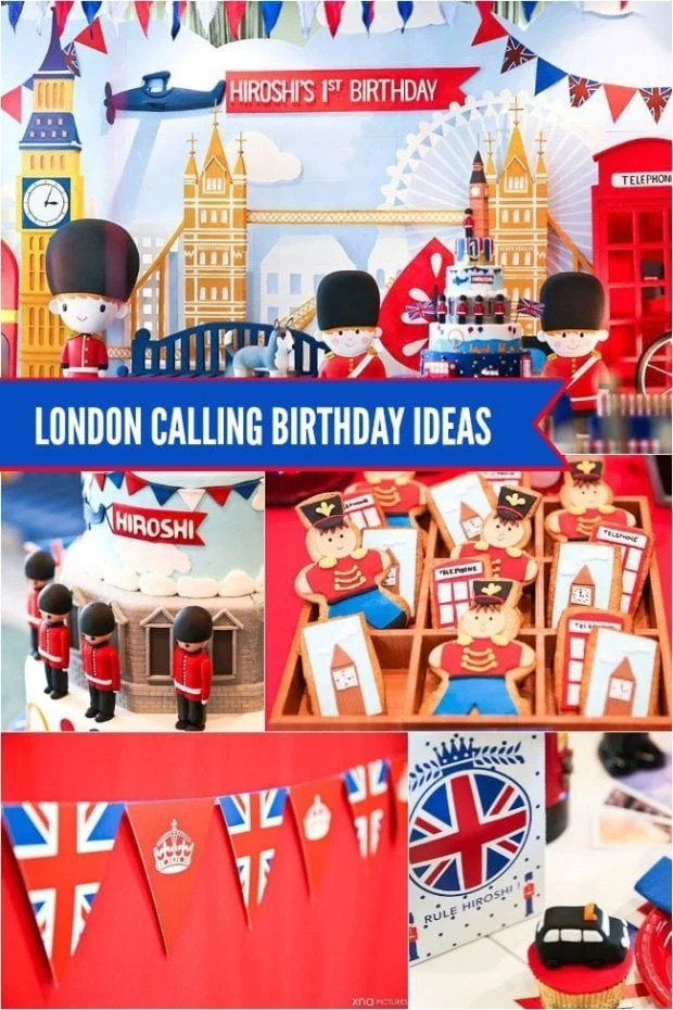 London England Birthday Party