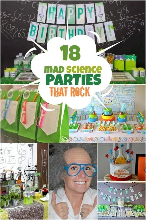 Mad Science Birthday Party Ideas For Boys