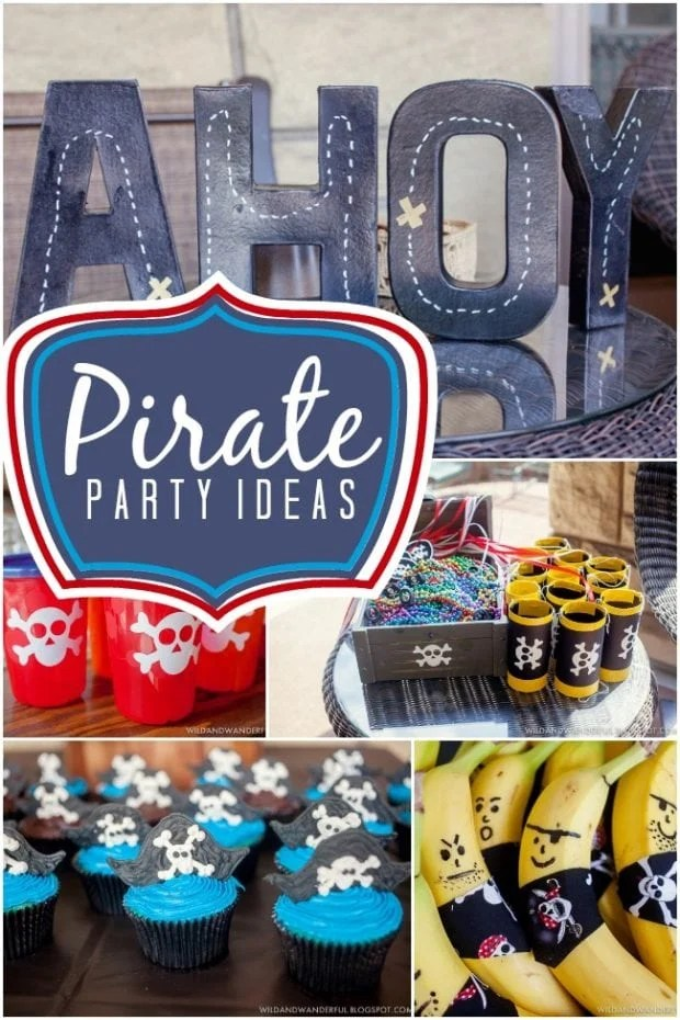 Yo Ho Ho A Boy S Pirate Party Spaceships And Laser Beams