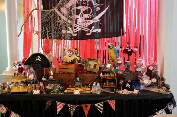 Pirate Birthday {Six Year Old Boy Party}