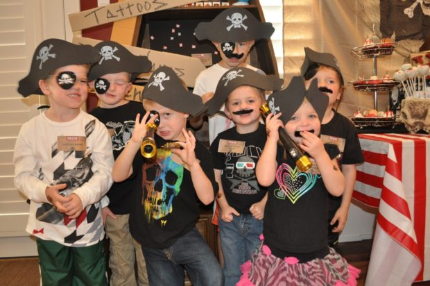 Inspiration Pirate Birthday Party Spaceships And