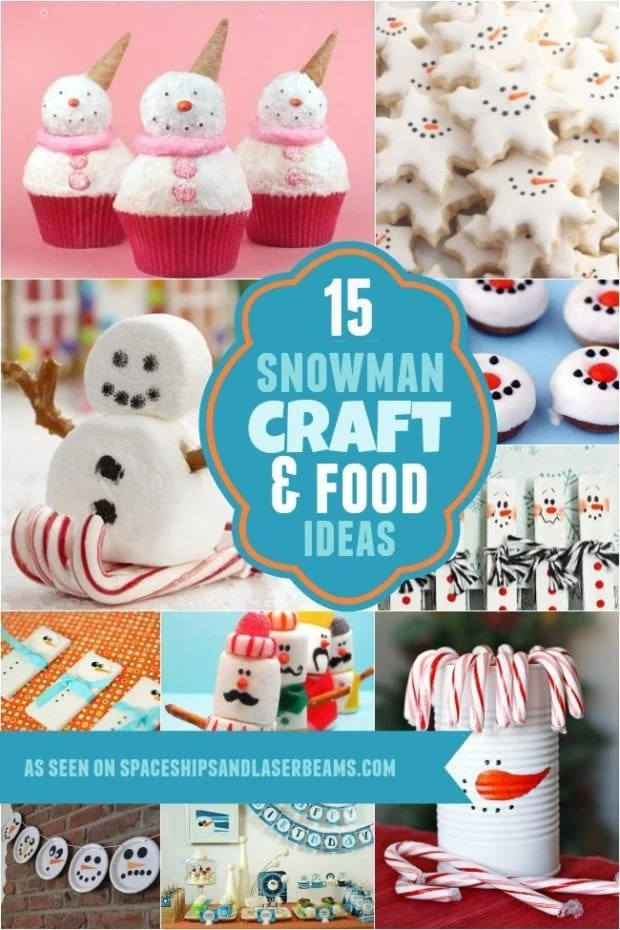Snowman Craft and Food Ideas