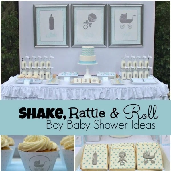 Nautical Theme Baby Shower