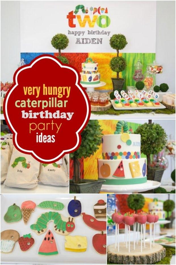 29 Very Hungry Caterpillar Birthday Party Ideas