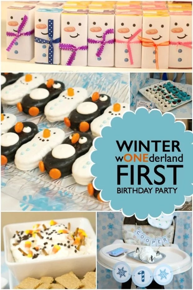 How to Throw a Winter-Themed Birthday Party
