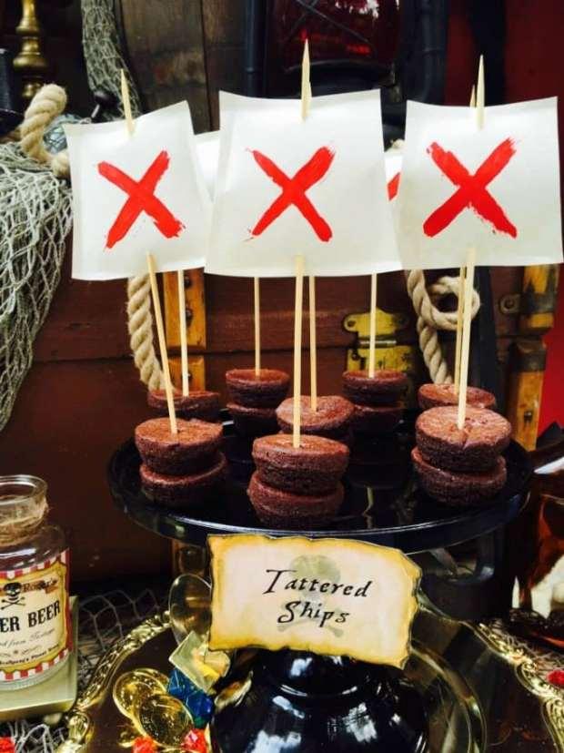 Pirate Birthday Party Dessert Ideas