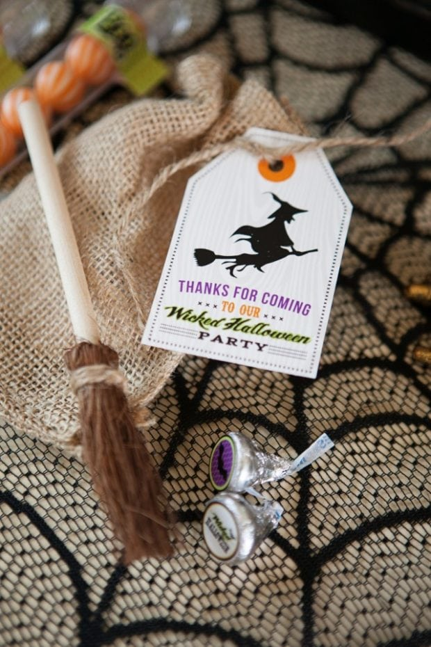 Witch Themed Party Favor Ideas