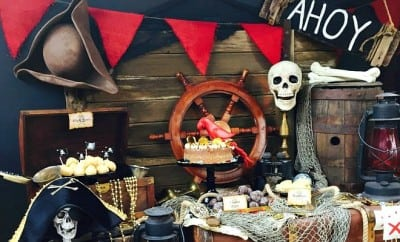 Swashbuckling Fun Boy S Pirate Birthday Party Spaceships