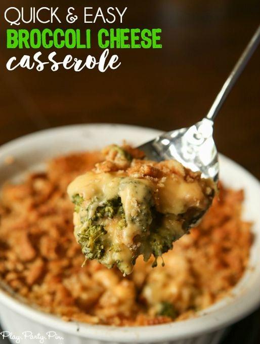 Easy Broccoli Cheese Chicken Casserole