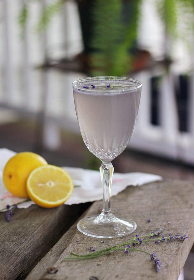 Lemon Lavendar Mocktail
