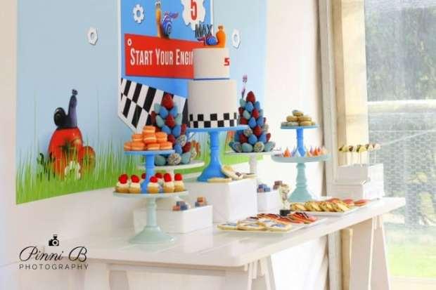 Boy's Birthday Party Dessert Table Ideas