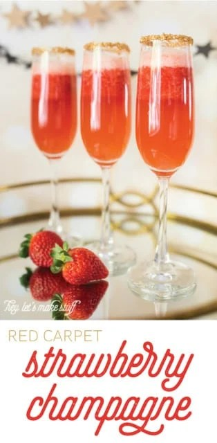 Red Carpet Strawberry Champagne
