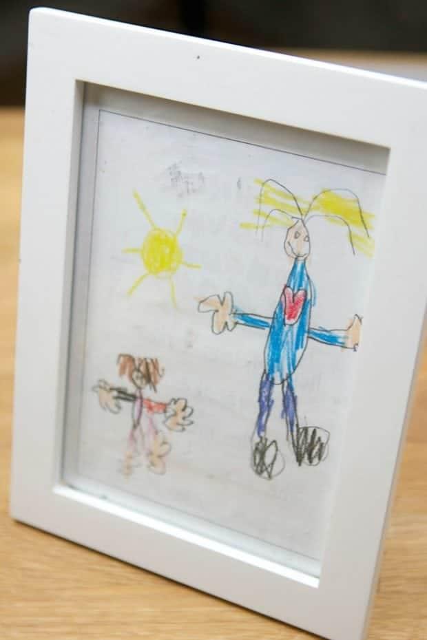 DIY Frame for Kid's Room