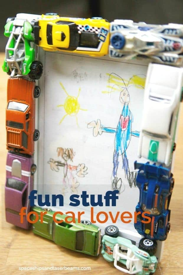 Hot Wheels Cars Picture Frame
