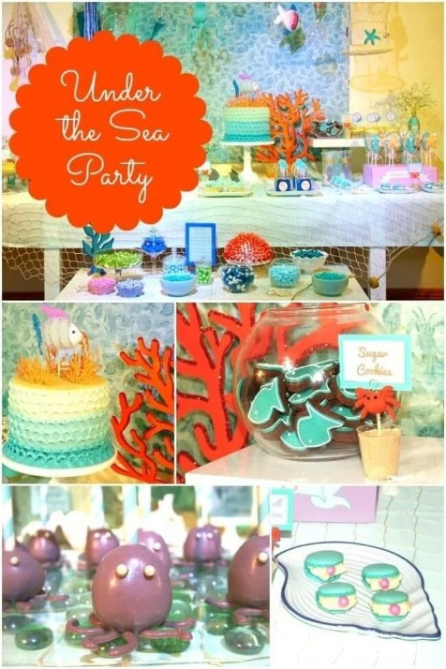 Image Of Under The Sea Childrens Party Supplies