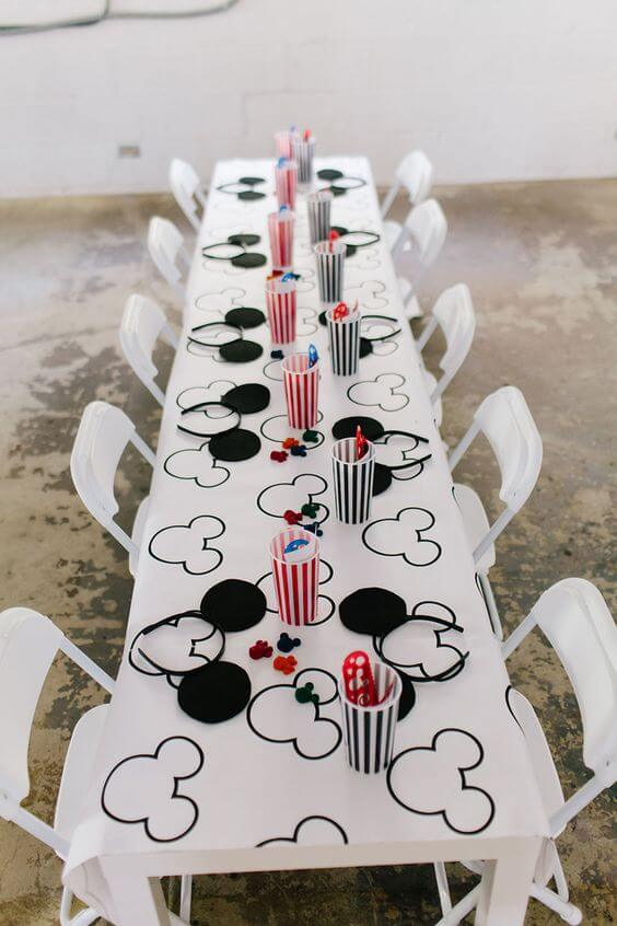 21 Modern Mickey Mouse Birthday Party
